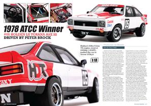 Biante – 1/18 Holden LX Torana A9X SS - 1978 ATCC Winner – Peter Brock