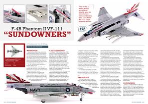 X-Plus – 1/72 1975 F-4B Phantom II VF-111