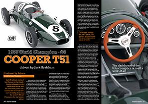 Schuco 1/18 1959 World Champion #8 Cooper T51 - Jack Brabham
