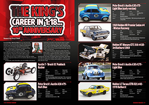 The Kings Career in 1/18 - The Peter Brock Collection
