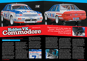 Classic Carlectables 1/18 1985 Bathurst #7 Holden VK Commodore